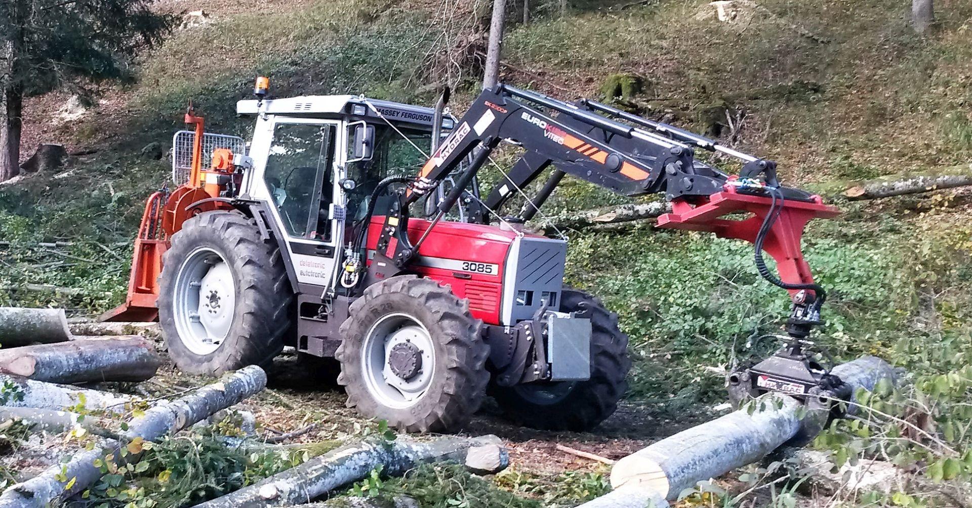 Betriebsumstrukturierung Forstunternehmen