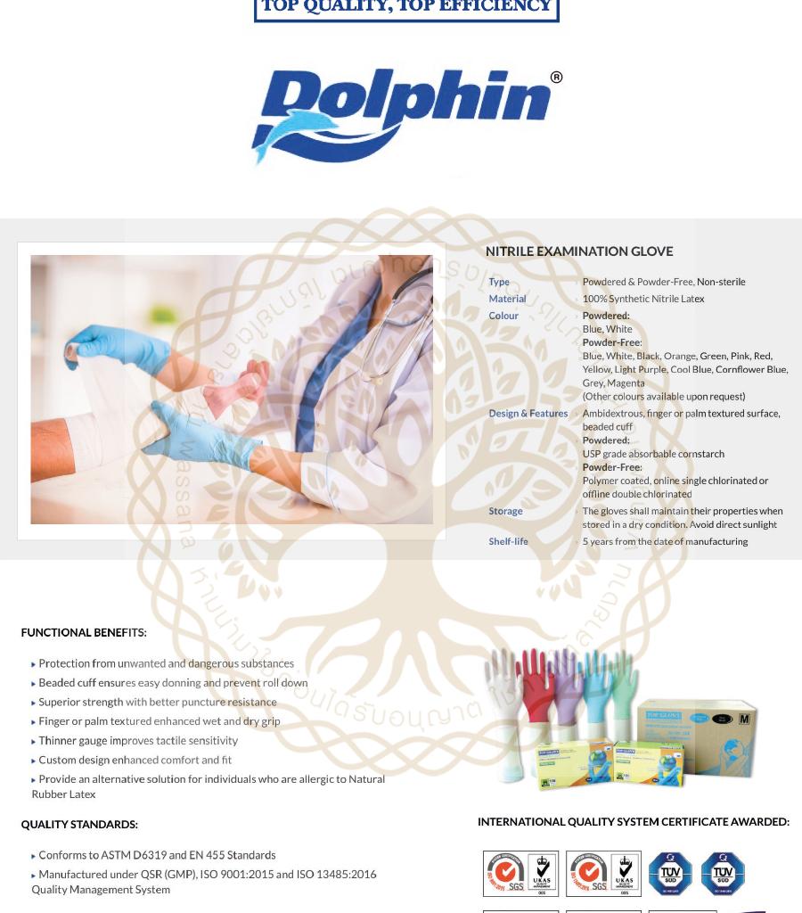 Covid Schutzausrüstung Nitril Handschuhe Nitrile-gloves Covid Rescue Dolphin Top Gloves