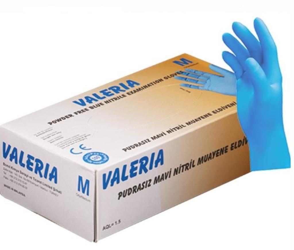 Covid Schutzausrüstung Nitril Handschuhe Nitrile-gloves Covid Rescue Valeria Nitrile Gloves