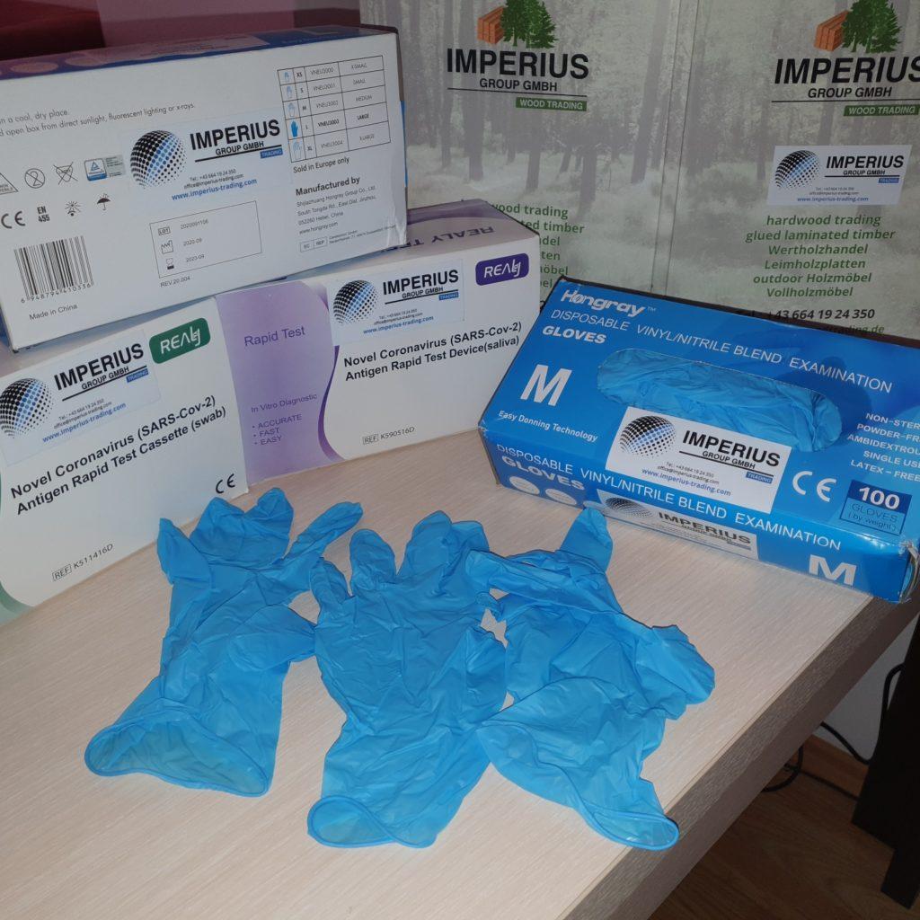 Hongray Nitrile Schutzhandschuhe _ Gloves_Imperius Group GmbH